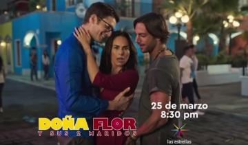 Elenco principal de Dona Flor e Seus Dois Maridos, da Televisa